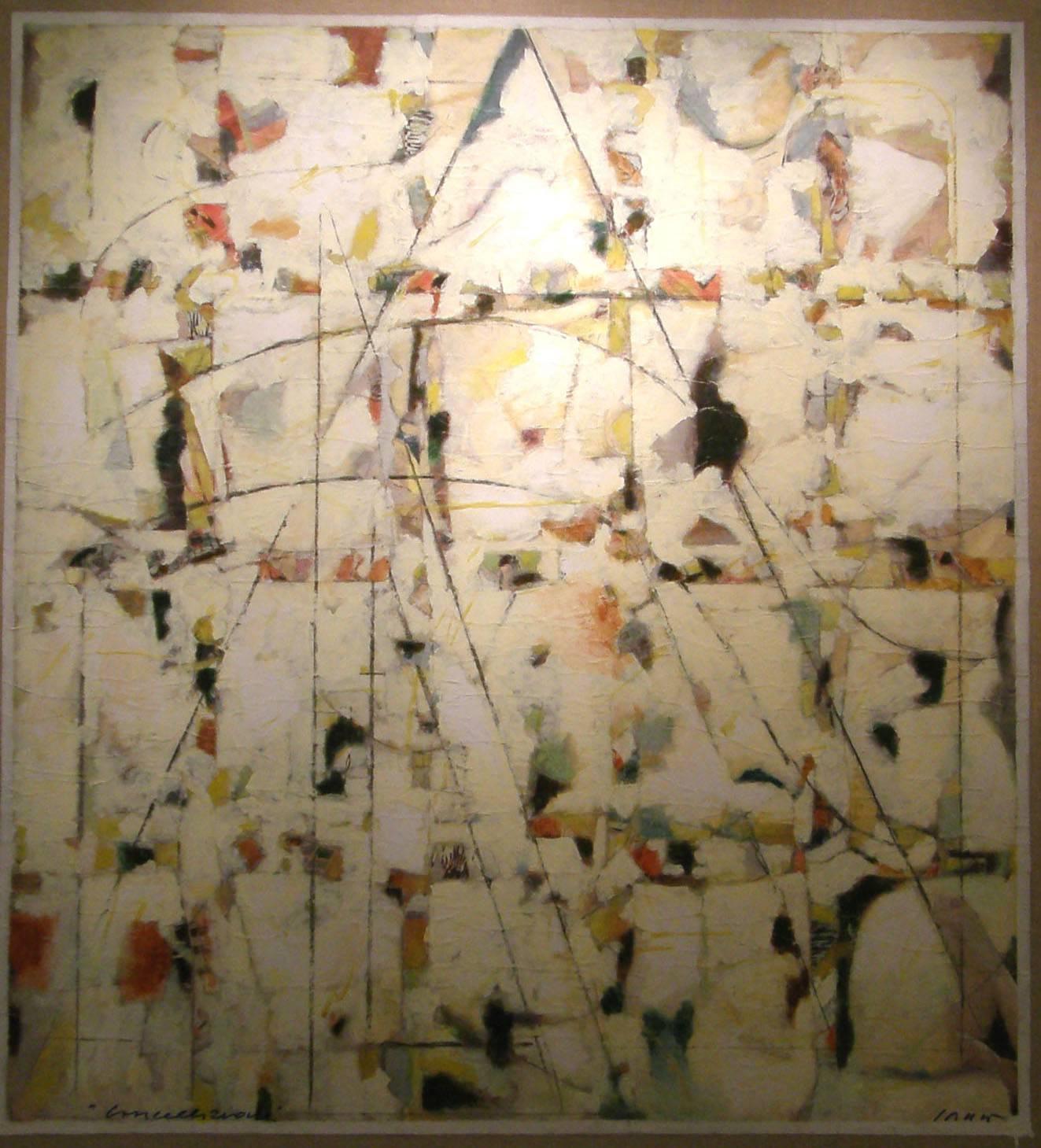 Franco-Sarnari-Cancellazione-5-(pagine-di-rotocalco)-2007-tecnica-mista-su-carta-intelata-cm-120x110-copia
